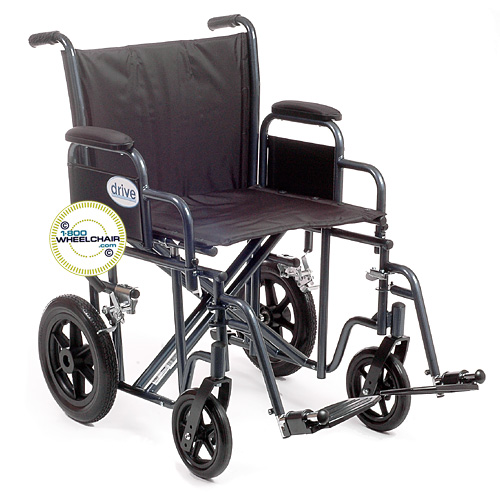 Heavy Duty Transport Wheelchair Bariatric Wheelchair 1