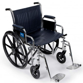 Medline Excel Extra Wide Manual Wheelchairs