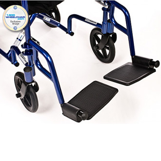 Drive Aluminum Transport Wheelchair
